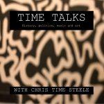 Time Talks podcast logo